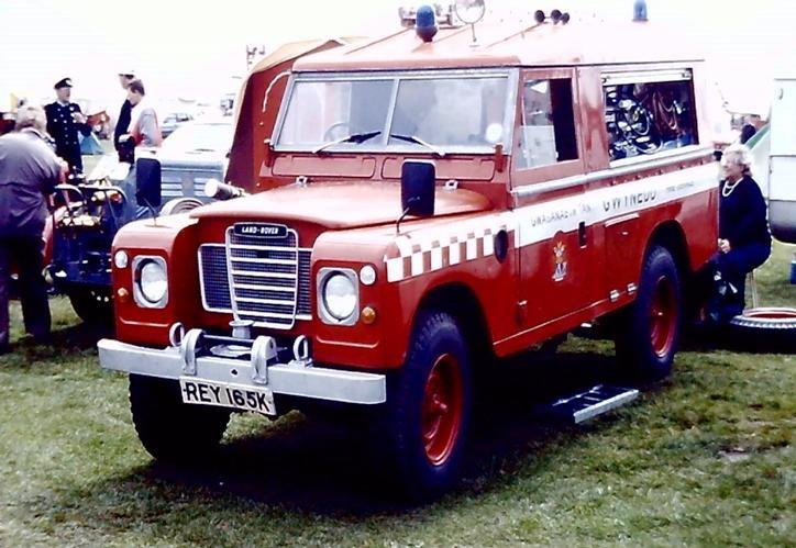 Land Rover REY 165K Gwynedd CU