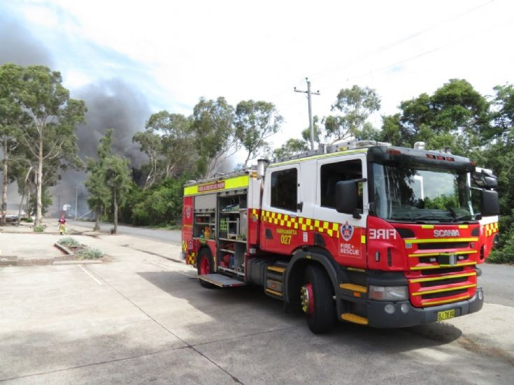 Pumper 27 (Parramatta)