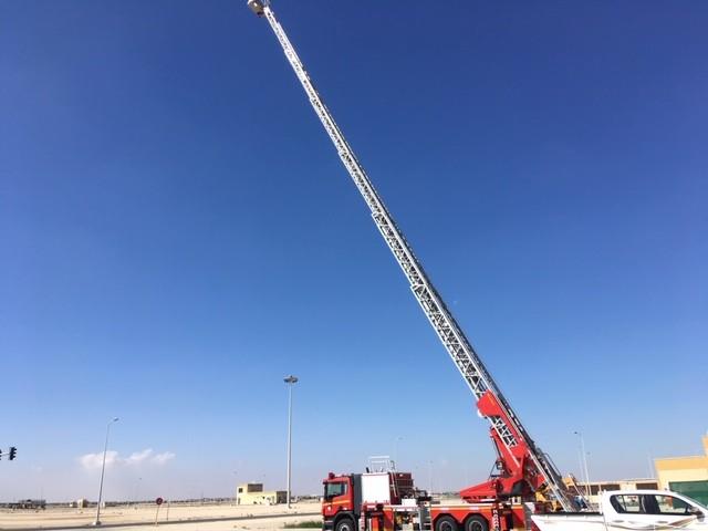 Rosenbauer TL Qatar 57m extended