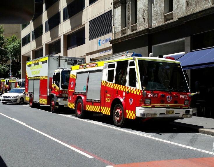 FRNSW Varley & Isuzu trucks - Sydney Australia