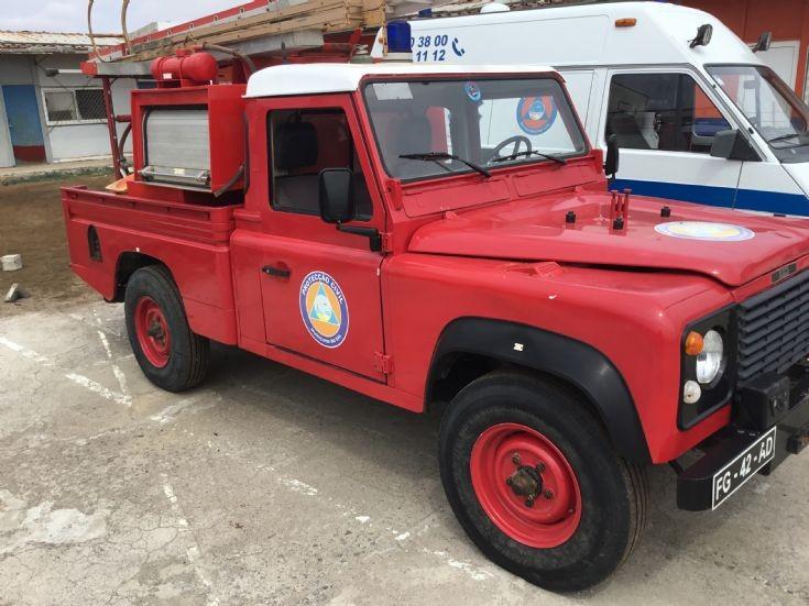 Land Rover Isle de Sal Cape Verde