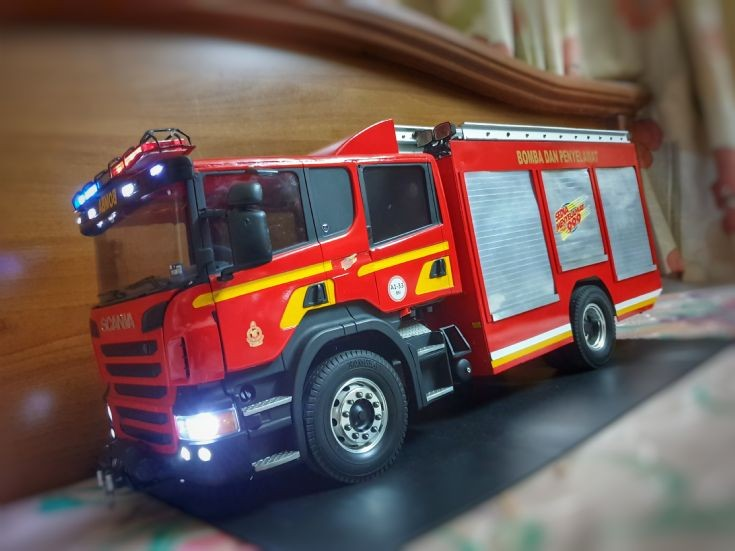 Fire Rescue Dept of Malaysia Fire Rescue Tender