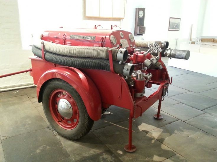 Coventry Climax Fire Pump