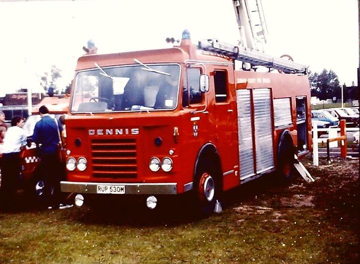 RUP530M Dennis F49 Simonitor TSM15 Durham