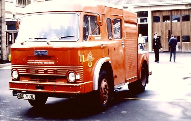 DDD 700L Ford D series RecV Gloucs Cheltenham