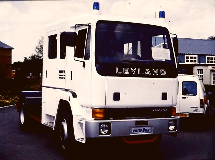 Leyland Freighter F&W Fulton Wylie chassis cab