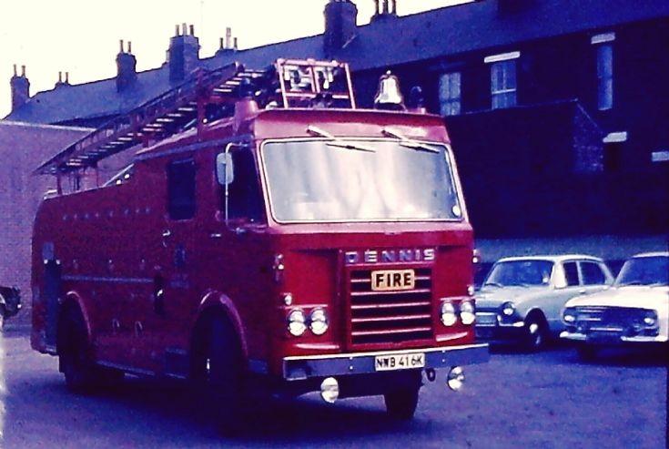 NWB 416K Sheffield Dennis F48 PL