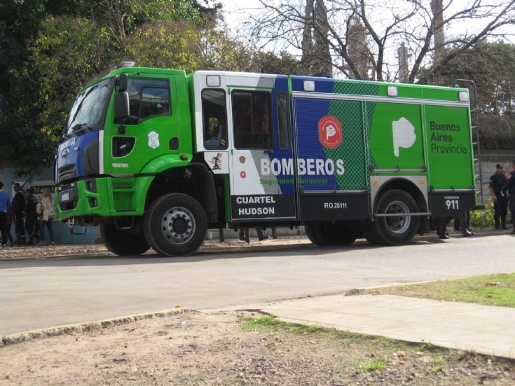 Bomberos Provincia de Buenos Aires - Argentina