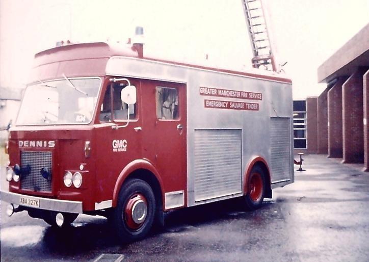 Dennis F48 EST GMC/Manchester XBA327K