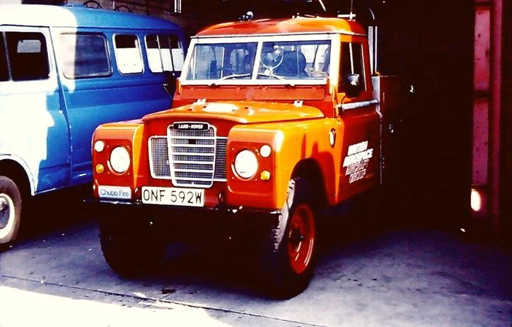 LAND ROVER CHUBB ONF592W