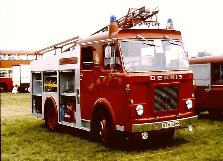 NTM336H Dennis D WrT Bedfordshire