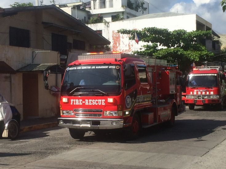 Olongapo Fire Rescue Engine 2 Fuso Truck