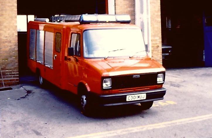 Leyland Sherpa industrial appliance C301MUJ L4P