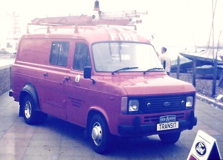 Ford Transit/HCBA L4P 1979 exhibition Brighton