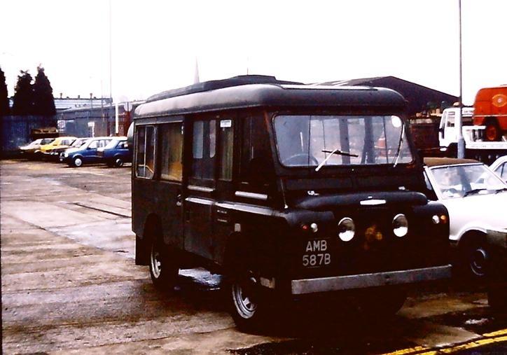AMB587B Land Rover FC/Carm Cheshire