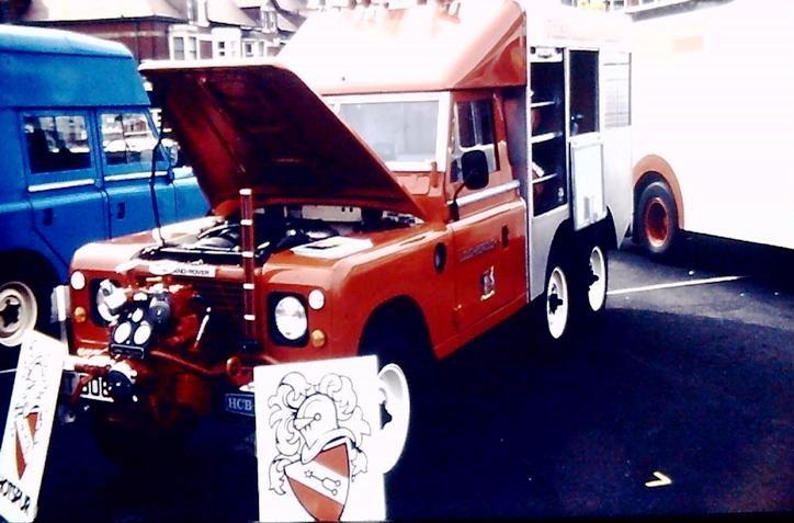 Land Rover HCBA 6x6 Leics BUT 906Y
