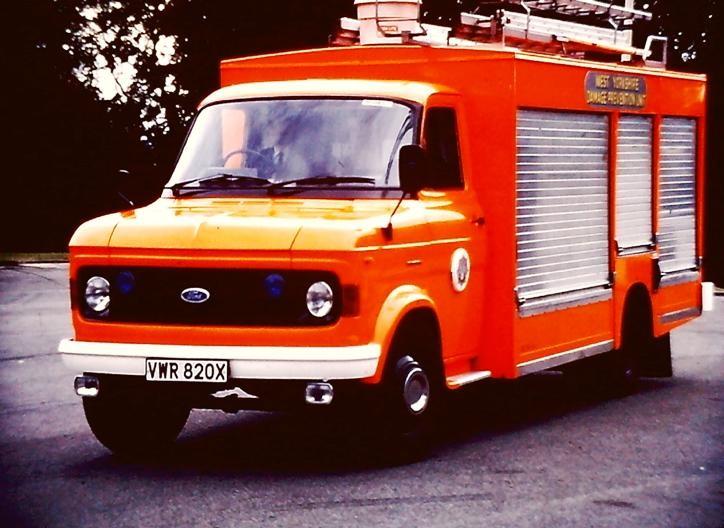 VWR820X Ford A W Yorks DCU