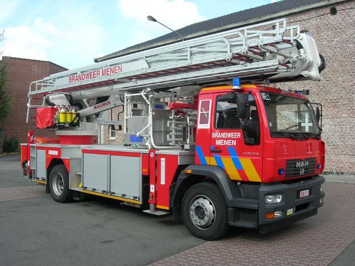 Brandweer Menen MAN Aerial Ladder Platform