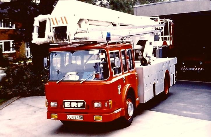 OUN543M ERF/Jennings HP SS65 Clwyd
