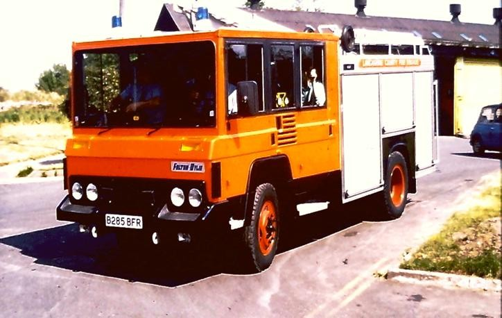B285BFR Bedford F&W Fire WrT Lancs