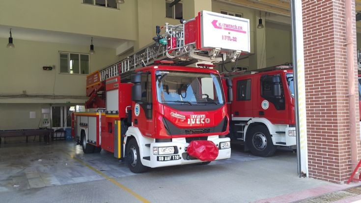 Iveco EuroCargo 32m Turntable Ladder Truck