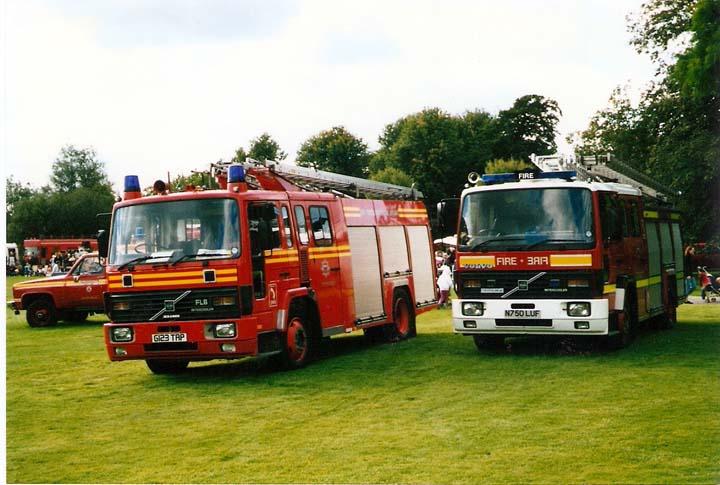 East Sussex Volvo Rescue pump
