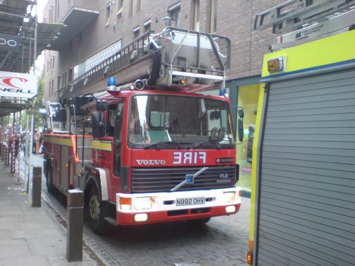 London Fire Brigade Volvo  HP