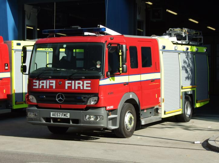 Fire Engines Photos - Photo of London Fire Brigade DPL