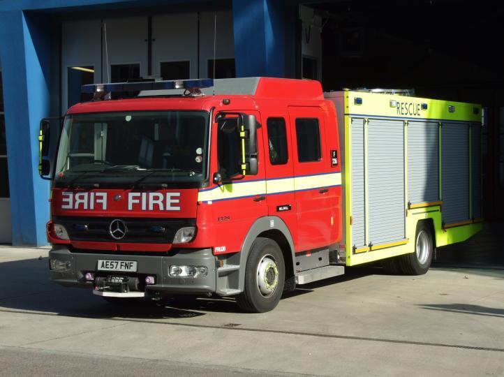 Photo of London Fire Brigade Fire Rescue Unit