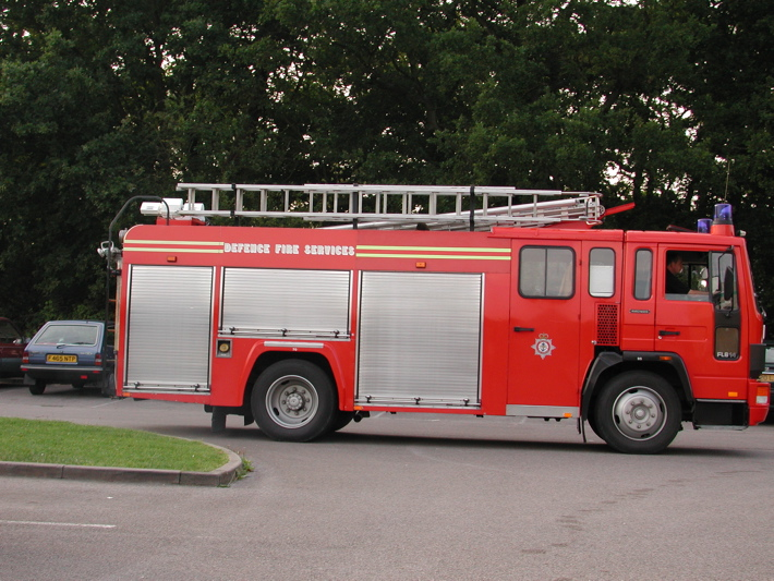 HCB-Angus Defence Fire Services Fire Engine.