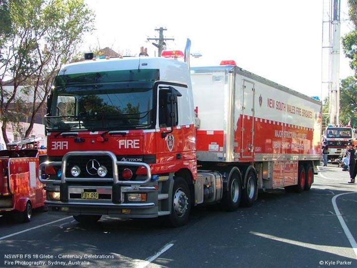 NSW Fire Brigades USAR1