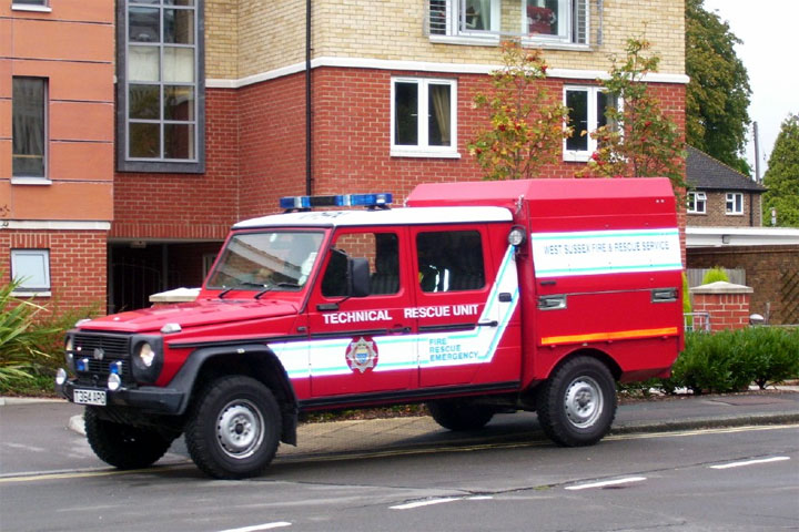 West Sussex FRS Steyr-Puch JDC