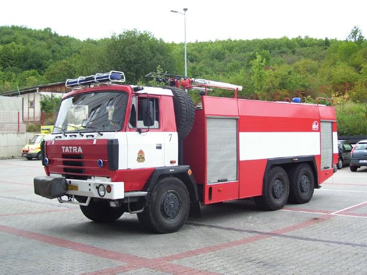 Hasiči Praha Tatra Watercarrier