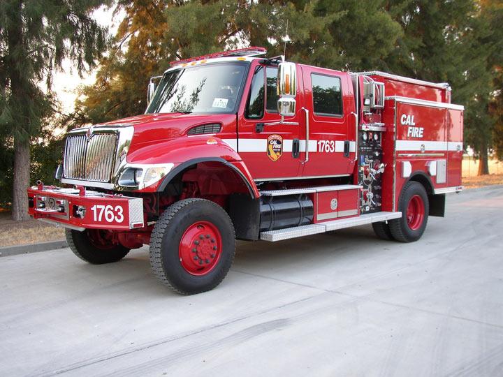 CalFire Class 3 Fire Engine Rosenbauer