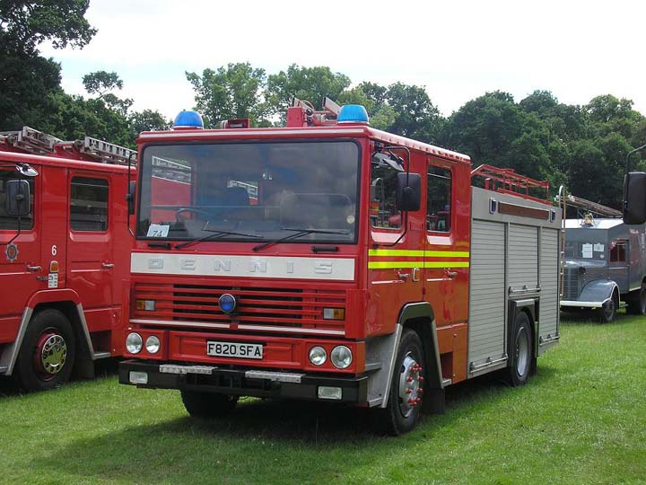 Dennis RS137, Ex-Staffordshire