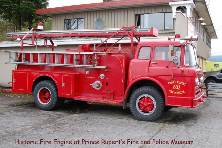 Prince Rupert's Fire & Police Museum 1958 pumper