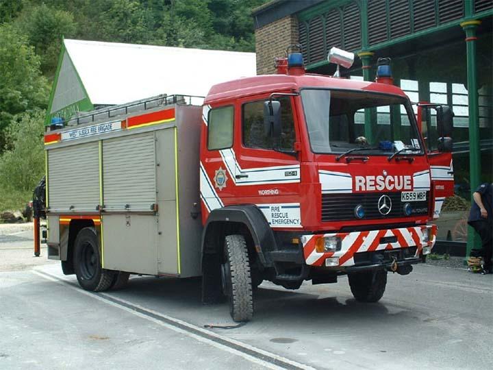 West Sussex FRS Mercedes HRU