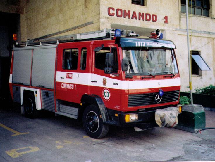 Havana Fire Truck #629