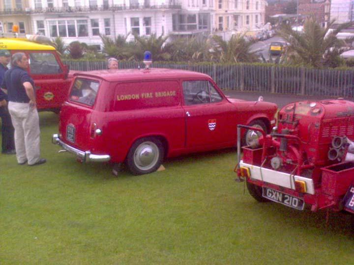 London Fire Service Eastbourne 999 show
