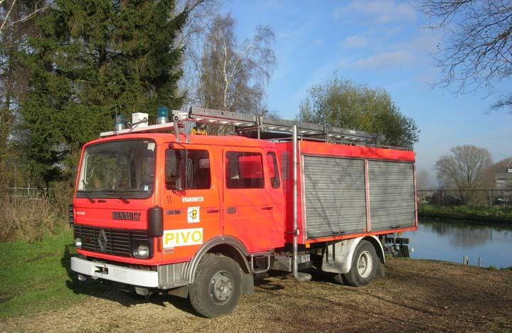 Fire School Pivo Asse Belgium Renault JN90