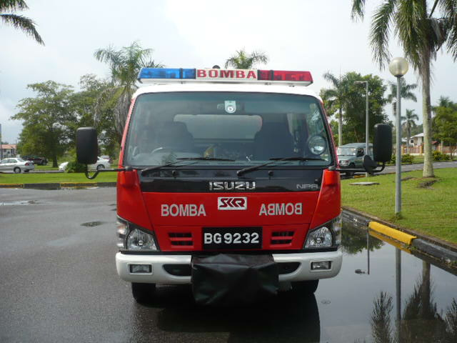 front view of Isuzu NPR/SK Fire LP12