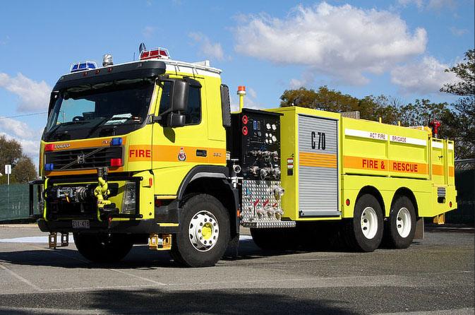 CAFS Tanker A.C.T. Fire brigade Volvo FM9