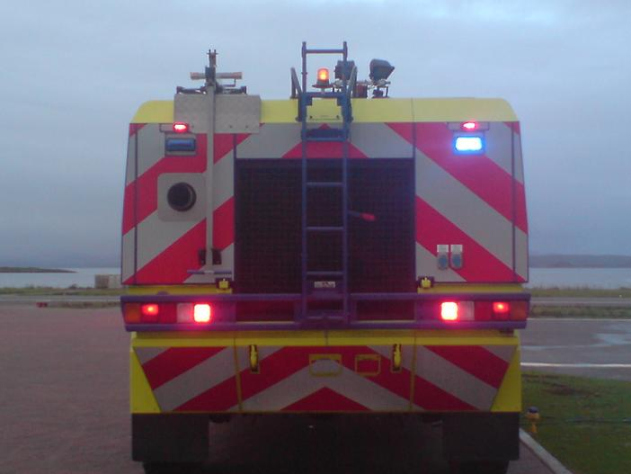 Rear of Protector Mk2 Oban Airport Fire Service