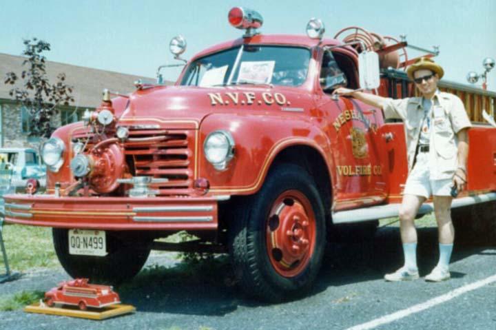 2R17A 1950 Studebaker Fire Truck Neshanic NJ