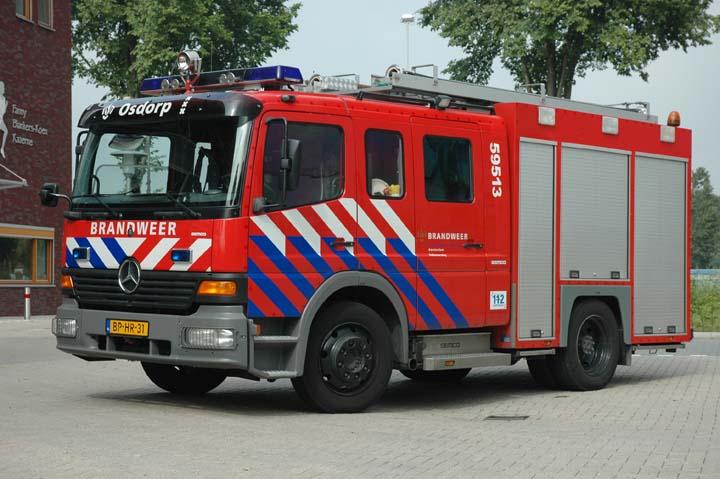 Brandweer Amsterdam Mercedes Watertender
