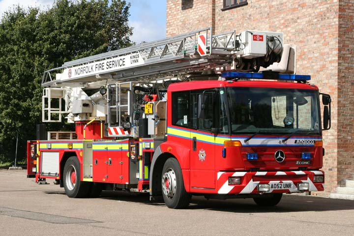 Norfolk Fire Service Mercedes ALP