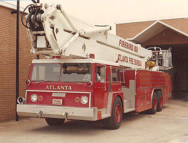 Atlanta Fire Dept. Firebird 150