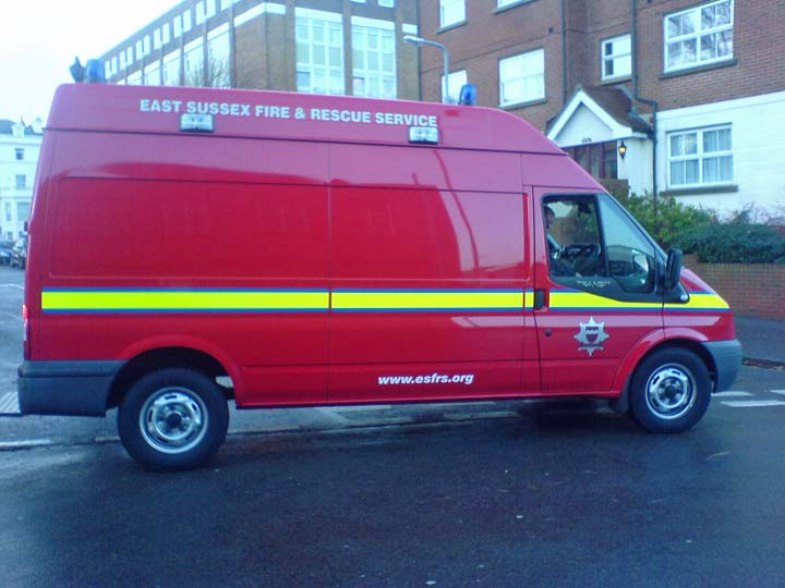 East Sussex FRS Eastbourne Chemical Support Unit