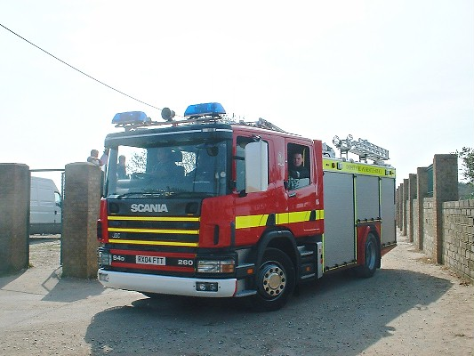 Scania WtL Dorset Fire and Rescue