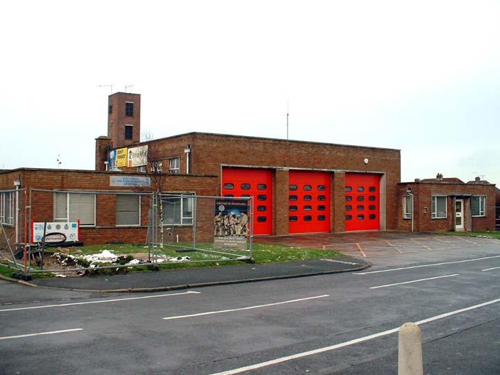 West sussex FRS Shoreham Fire station